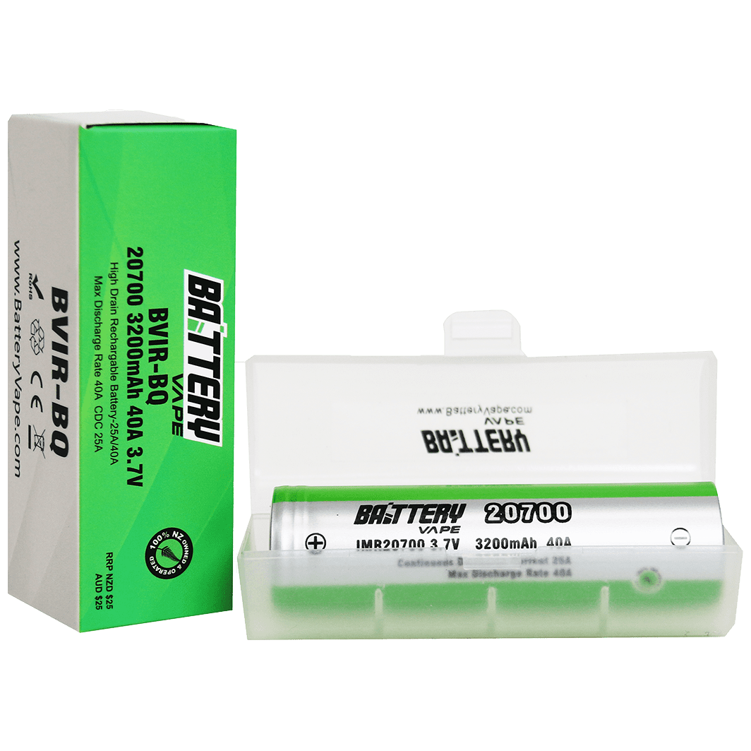 BV 20700 Battery 3200mAH 40A 3.7V retail box